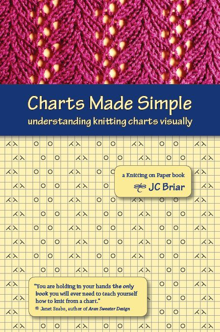Charts Made Simple Knitting Tips Techniques Pinterest