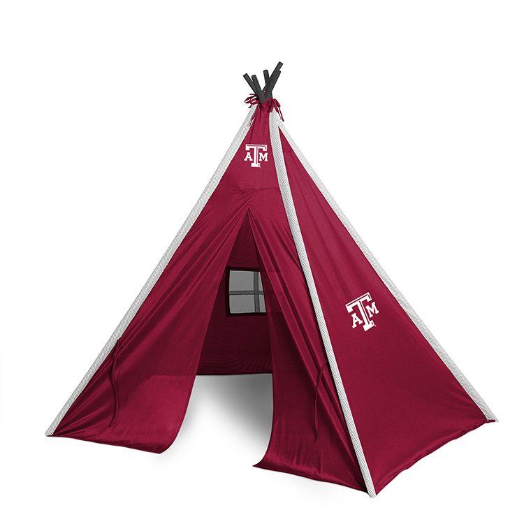 Texas A&M Aggies Sidelines Teepee Teepee play tent