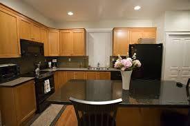 medium dark cupboards with dark countertops - Google Search