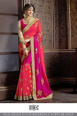 Wedding Reception Choli Lehenga Bollywood Designer Bridal New Partywear P1538c V Saree Designs Party Wear Sarees Fancy Sarees