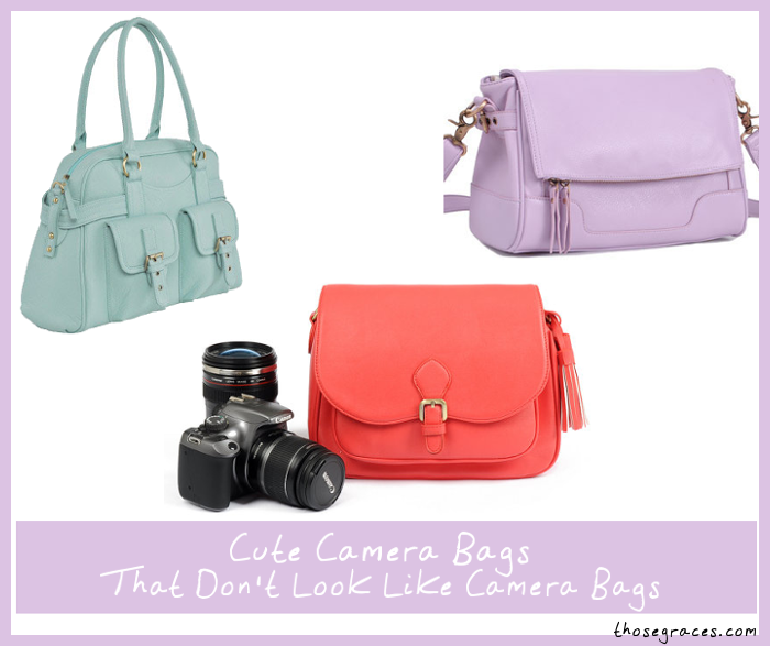 Cute Camera Bags that Don't Look Like Camera Bags | ThoseGraces ...