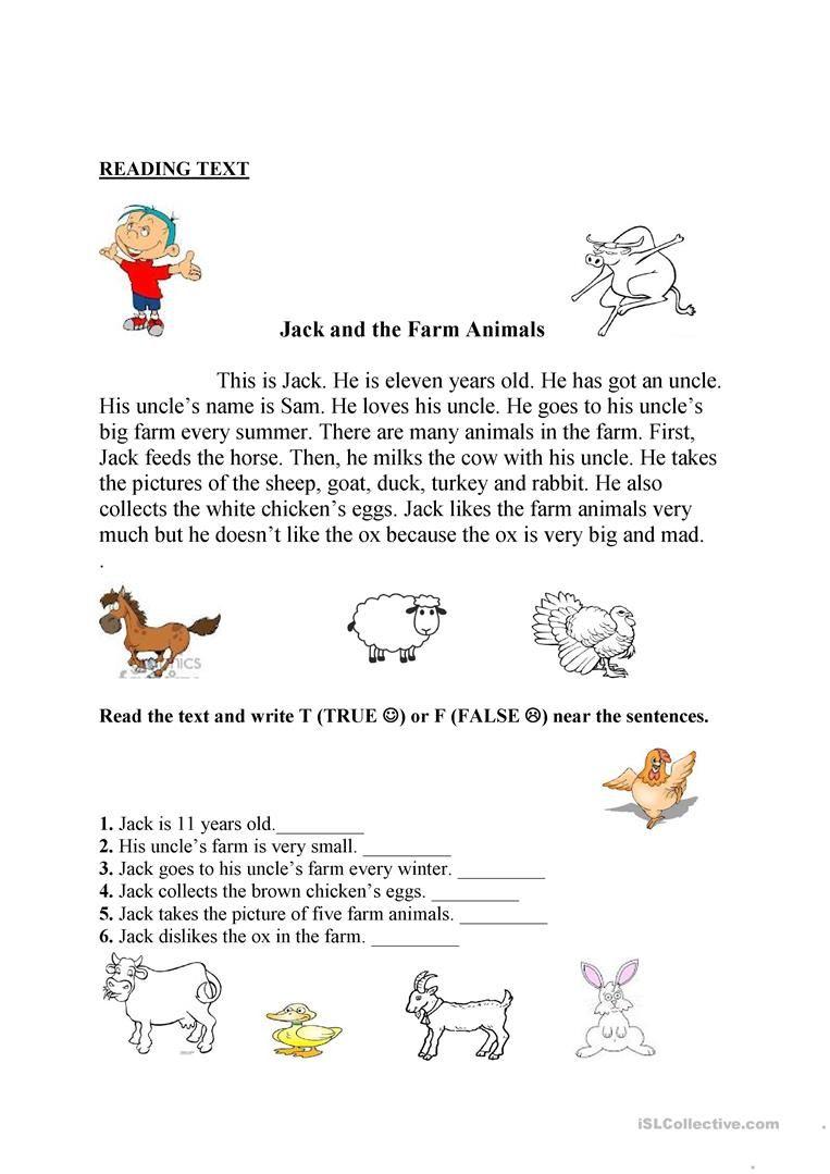Farm Animals Farm Animals Animal Worksheets Kindergarten Math Worksheets Counting Animal farm book worksheets