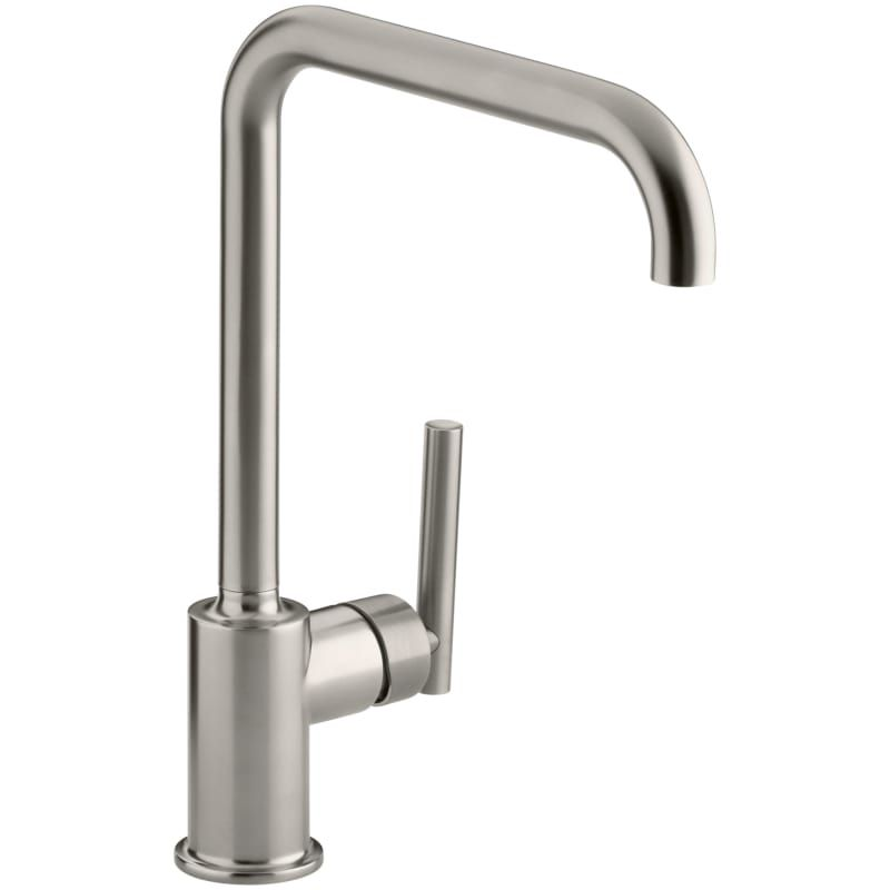 Kohler K 7507 Single Handle Swing Spout Kitchen Faucet From The