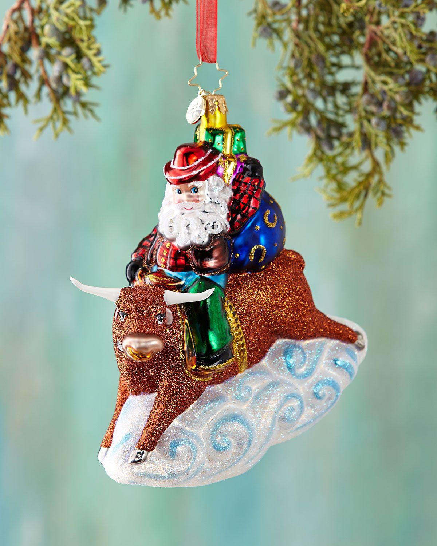8 Second Nick Christmas Ornament