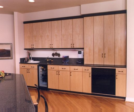 Kitchen Cabinet San Diego: Maple Kitchen Cabinets Contemporary