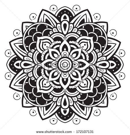 Moroccan Henna Silhouette