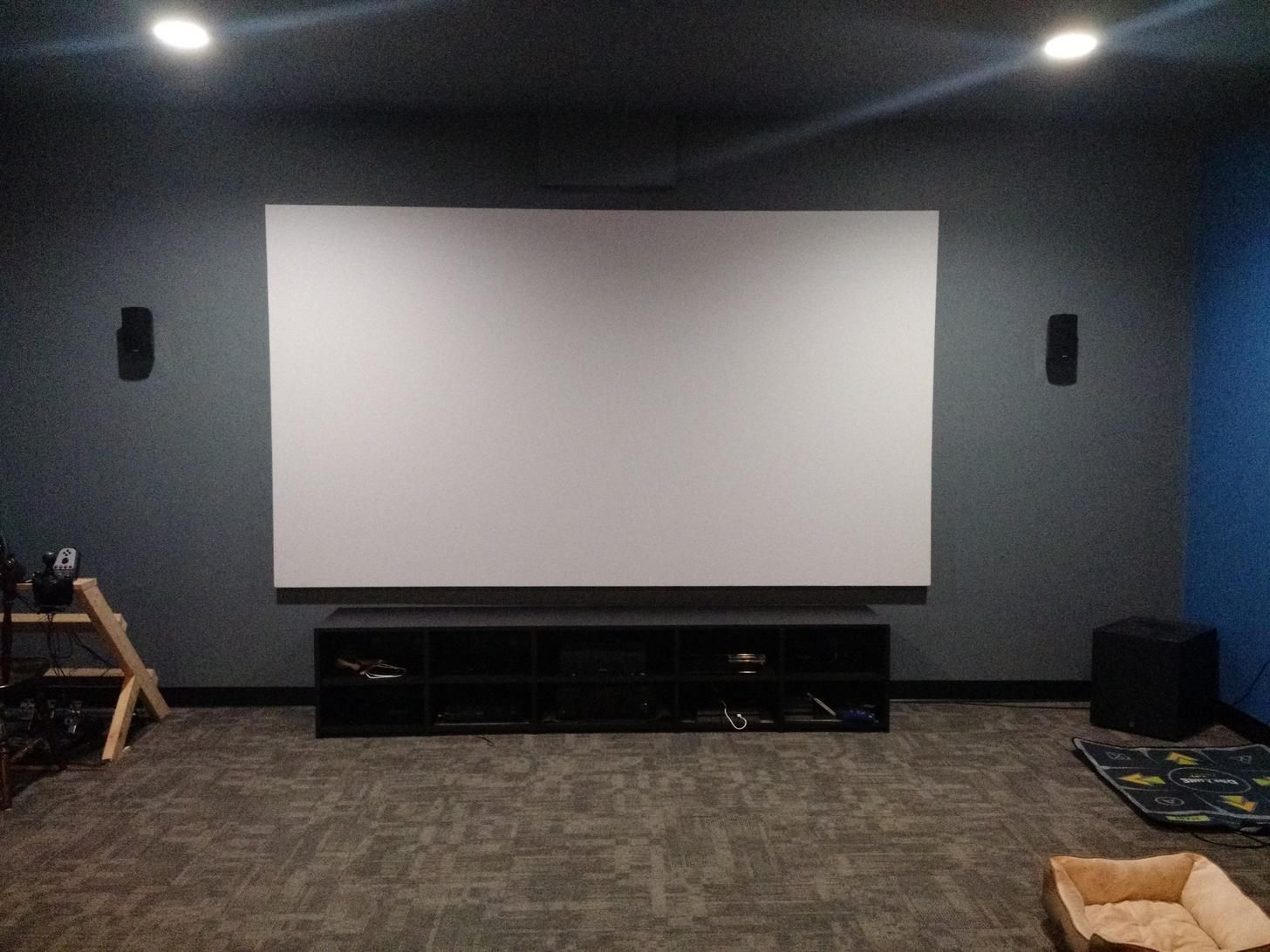 140 Projector Screen Home Theater Projectors Home Theater