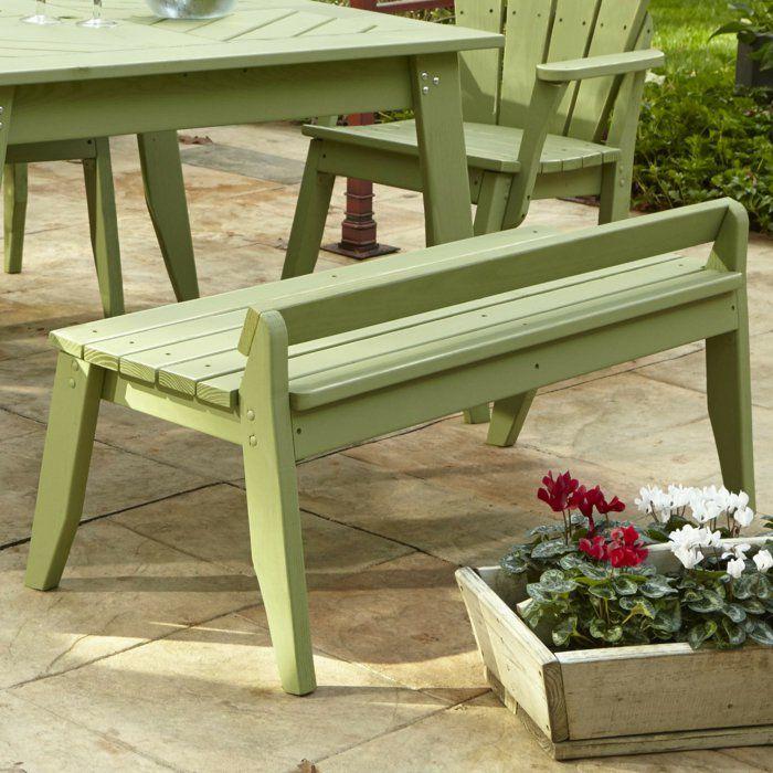 Garten gestalten mit holz  gartenmöbel garten gestalten gartenbank holz | Garten | Pinterest ...