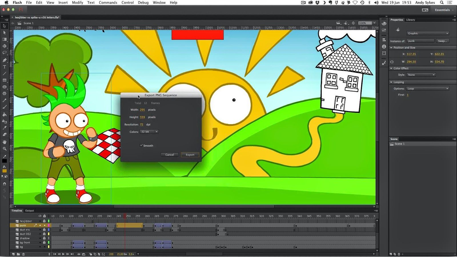 Adobe Flash Animation Free Download wwwhooperswarcom Exaple
