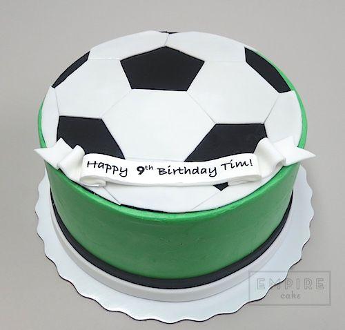 Soccer Ball Flat Fondant Soccer Soccer Cake Cake