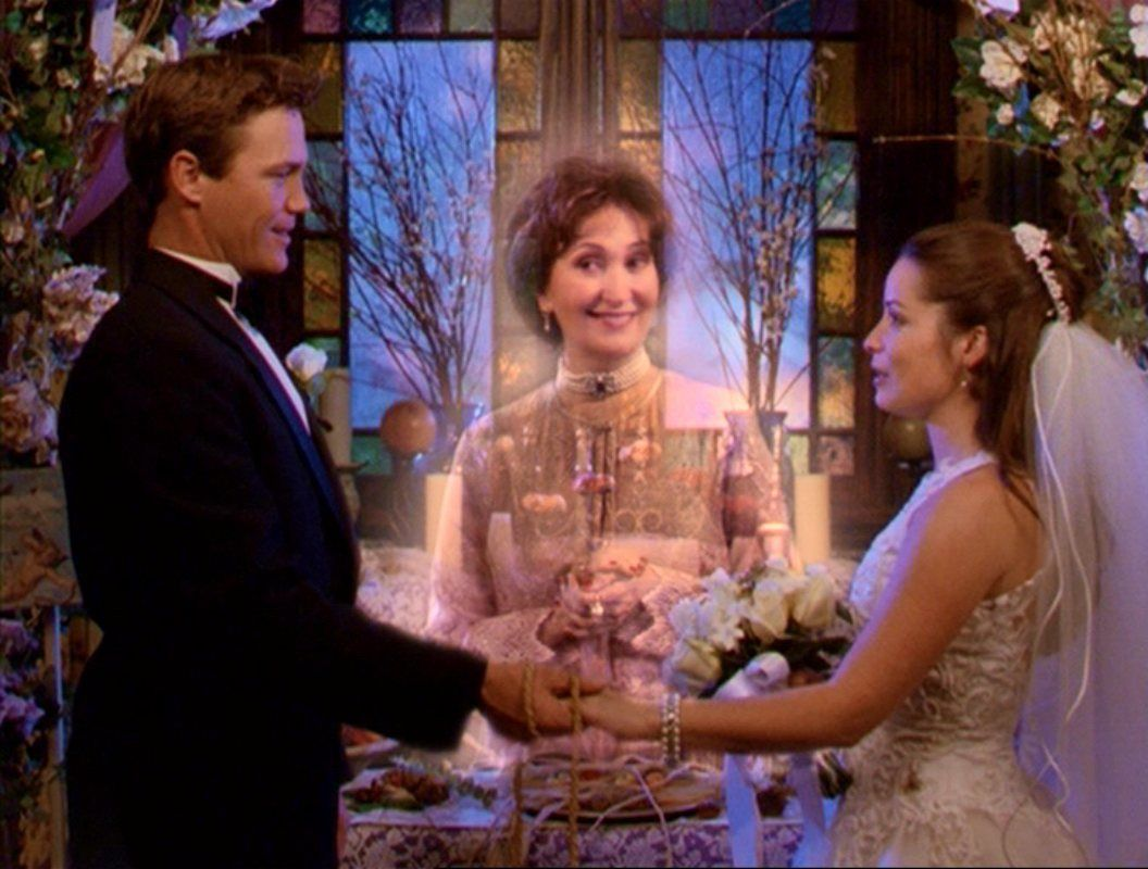 Charmed - Piper And Leo Wedding