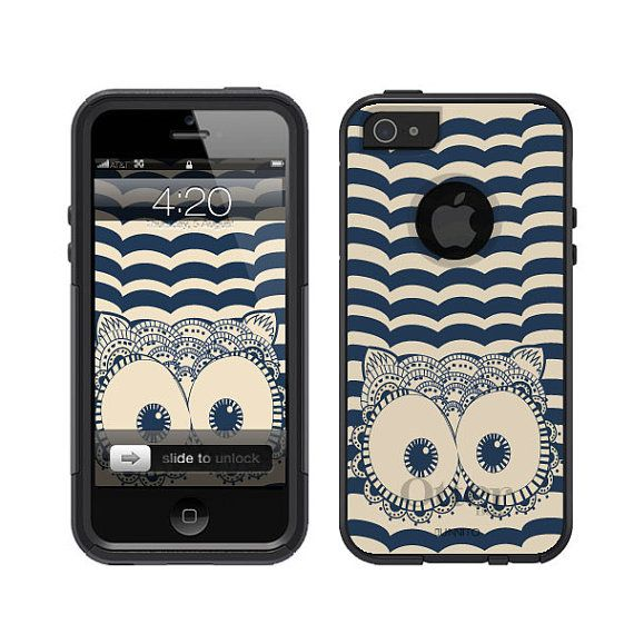 Otterbox iPhone 5 Commuter Series Black Owl Eyes iPhone 4 on Etsy, $34.99