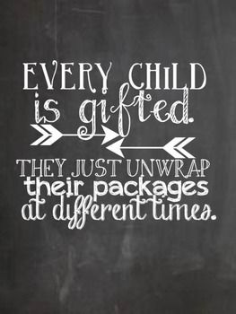 Image result for children reveal different packages quote no competition