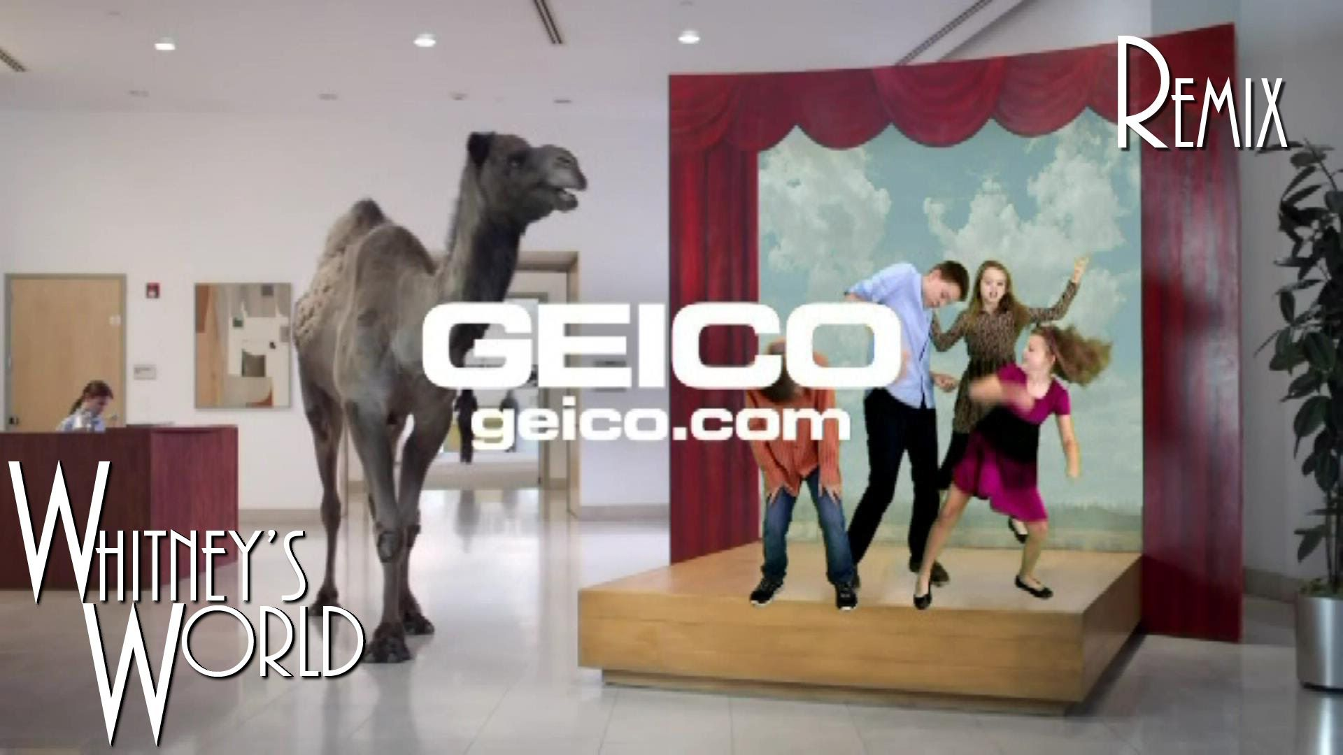 Hump Day Remix Geico Camel Guess What Day It Is Whitney