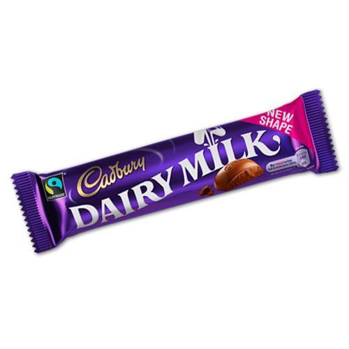 Cadbury Dairy Milk Bar 49g 1 7oz Dairy Milk Chocolate Dairy Milk Cadbury Dairy Milk