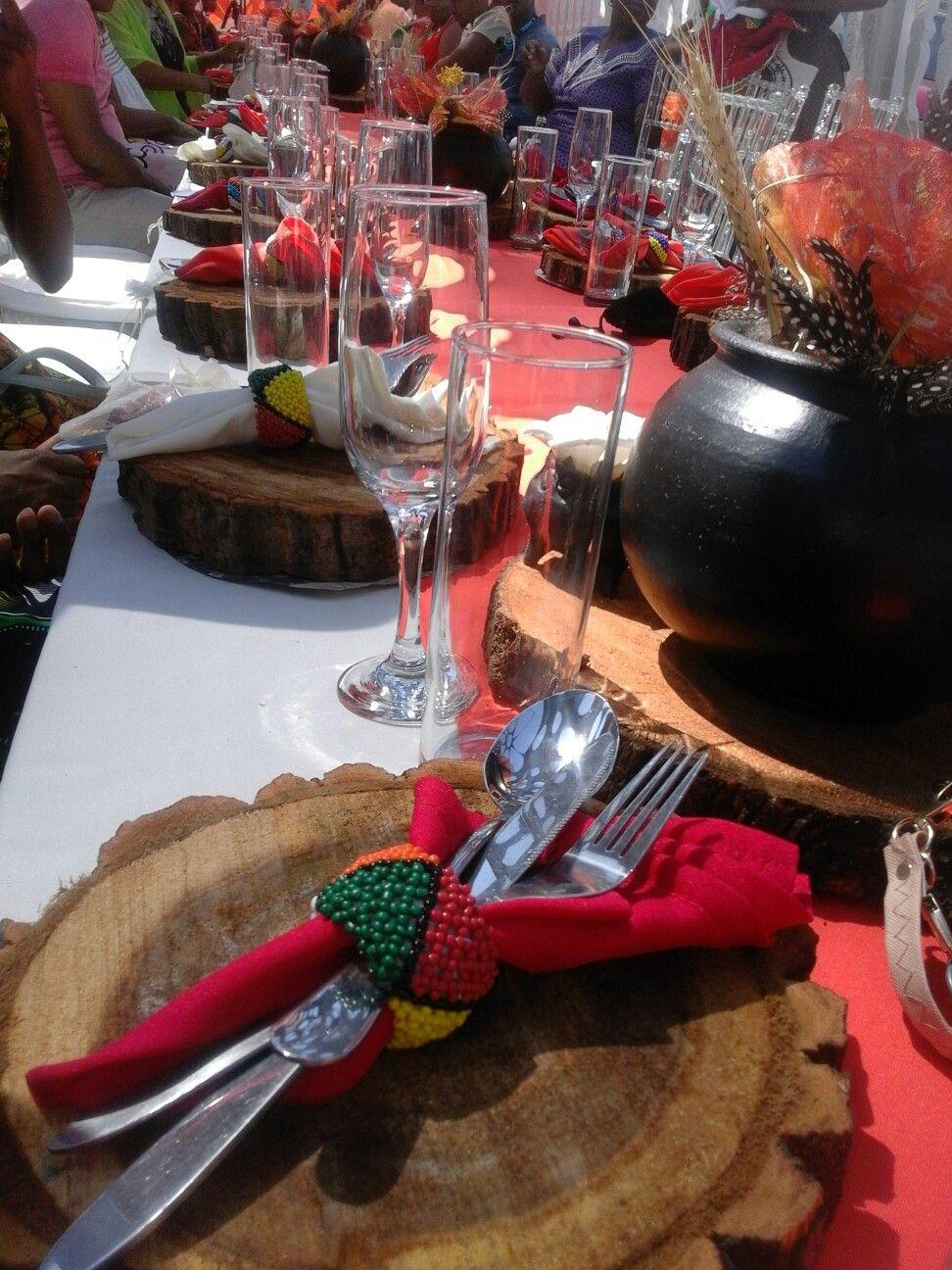 Yoruba traditional wedding decorations  Pin by Nomfuneko Mabulu on African deco  Pinterest  Traditional
