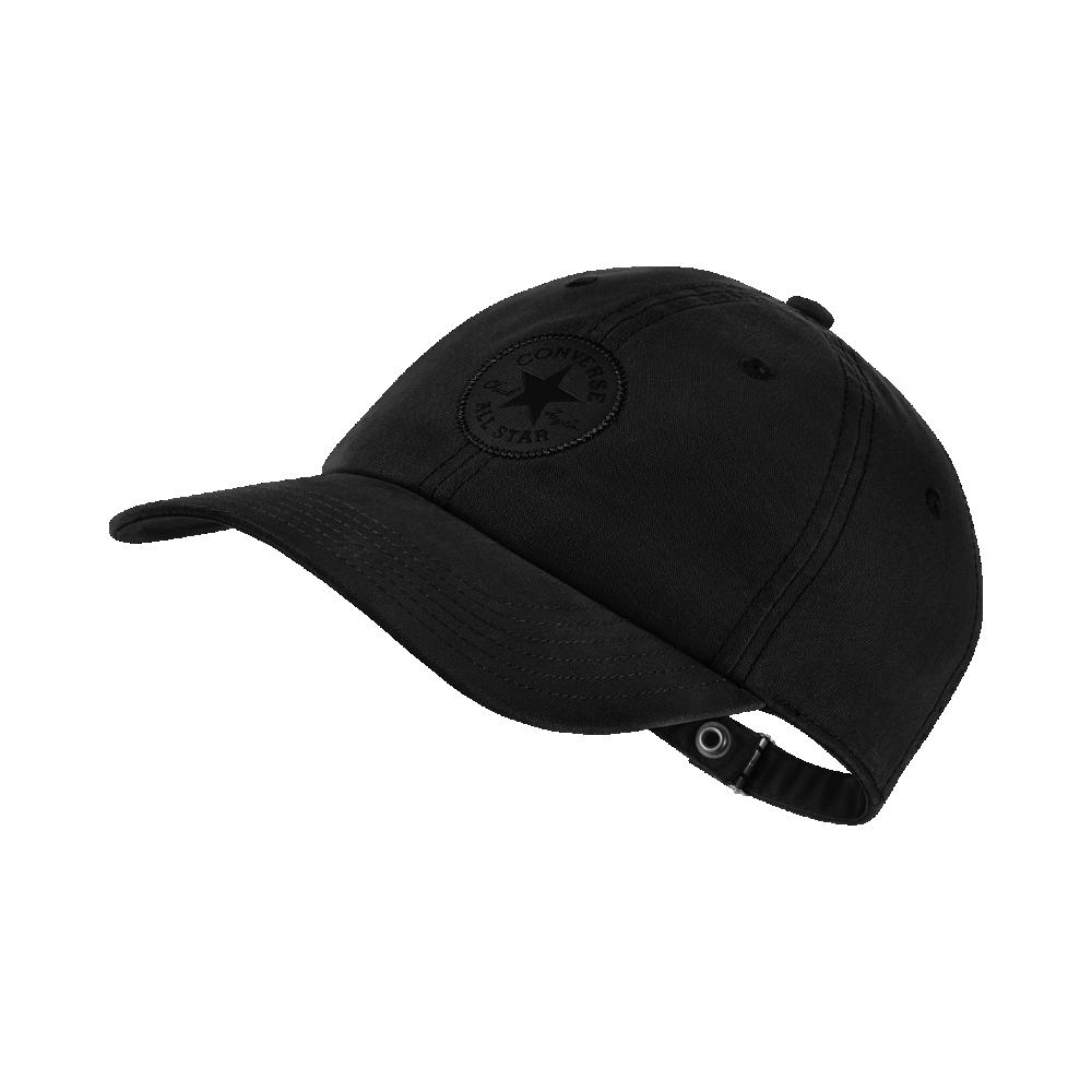 a6f6c182d571f8 Converse Monotone Core Adjustable Hat (Black) | Products | Converse ...