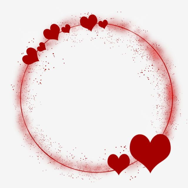 Red Heart Decorative Round Border Red Hearts Love Round Border Png Transparent Clipart Image And Psd File For Free Download Valentines Wallpaper Clip Art Borders Valentines Illustration