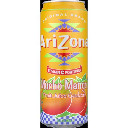 Arizona Mucho Mango Fruit Juice Cocktail 23 Fl Oz Walmart Com Mango Fruit Fruit Juice Cocktails Mango Tea