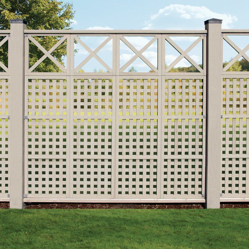 have to have it yardistry cedar lattice privacy trellis 199 99