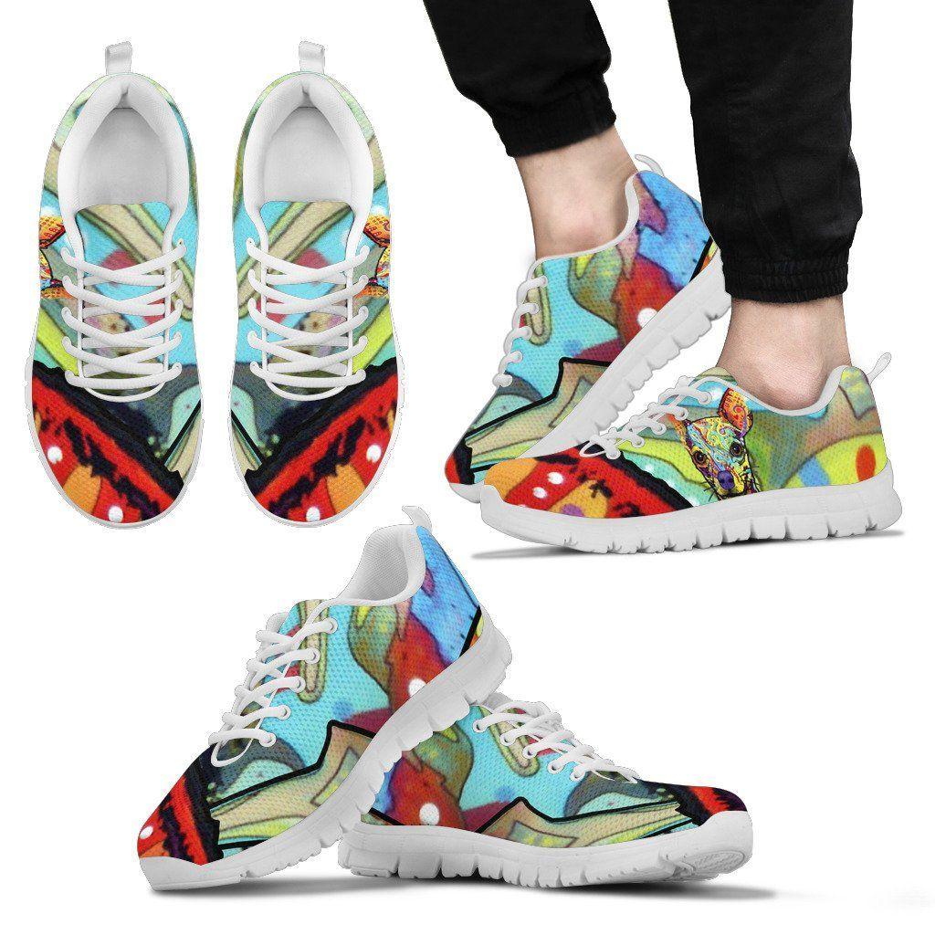 523c77a5b9a Chihuahua Design Men s Sneakers - Dean Russo Art