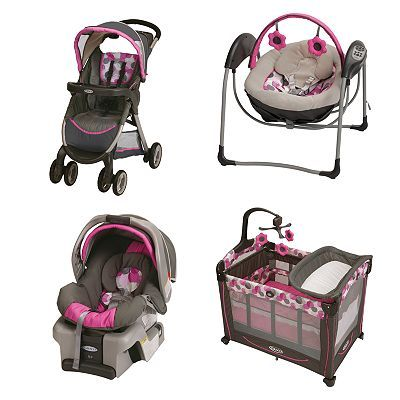Graco Lexi Baby Gear Collection Baby Girl Strollers