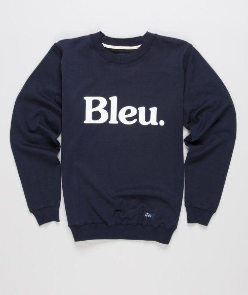 Bleu De Paname - Sweatshirt Logo.