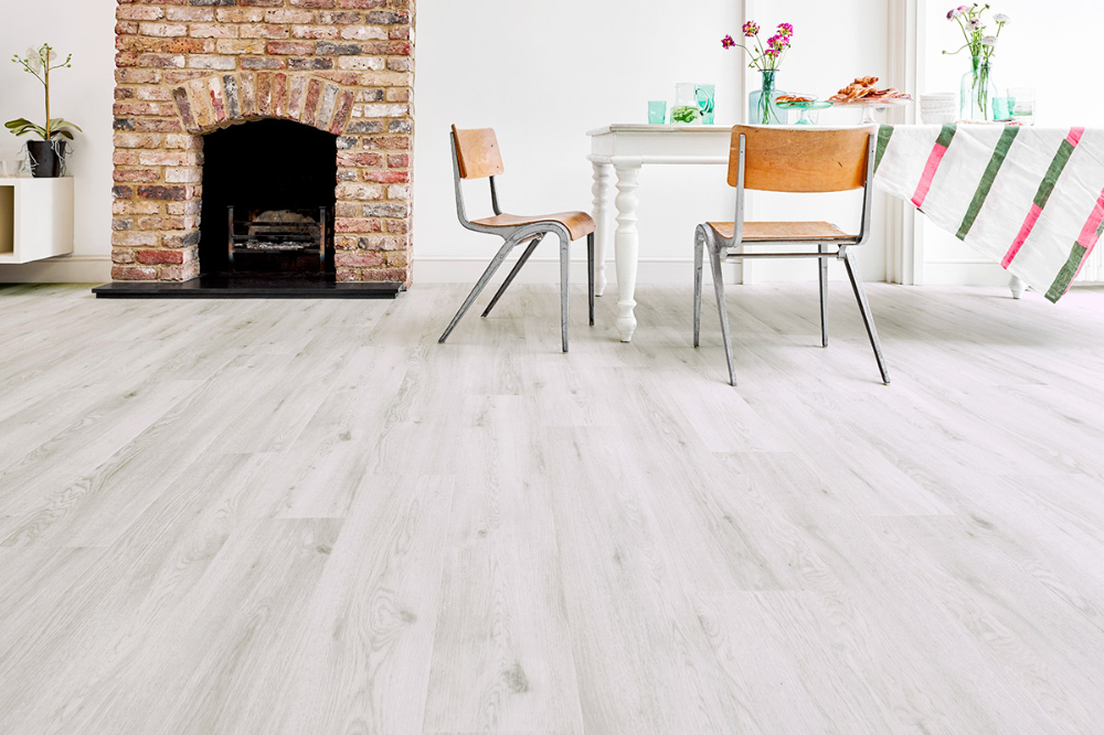 Spectra Sea Salt Oak Plank Luxury Click Vinyl Flooring