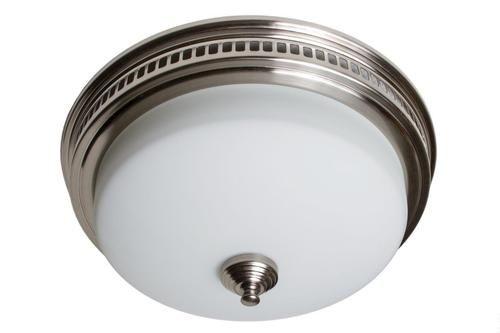 Tuscany Brushed Nickel Finish 110 CFM, 1.2 Sone Bath Fan With Light