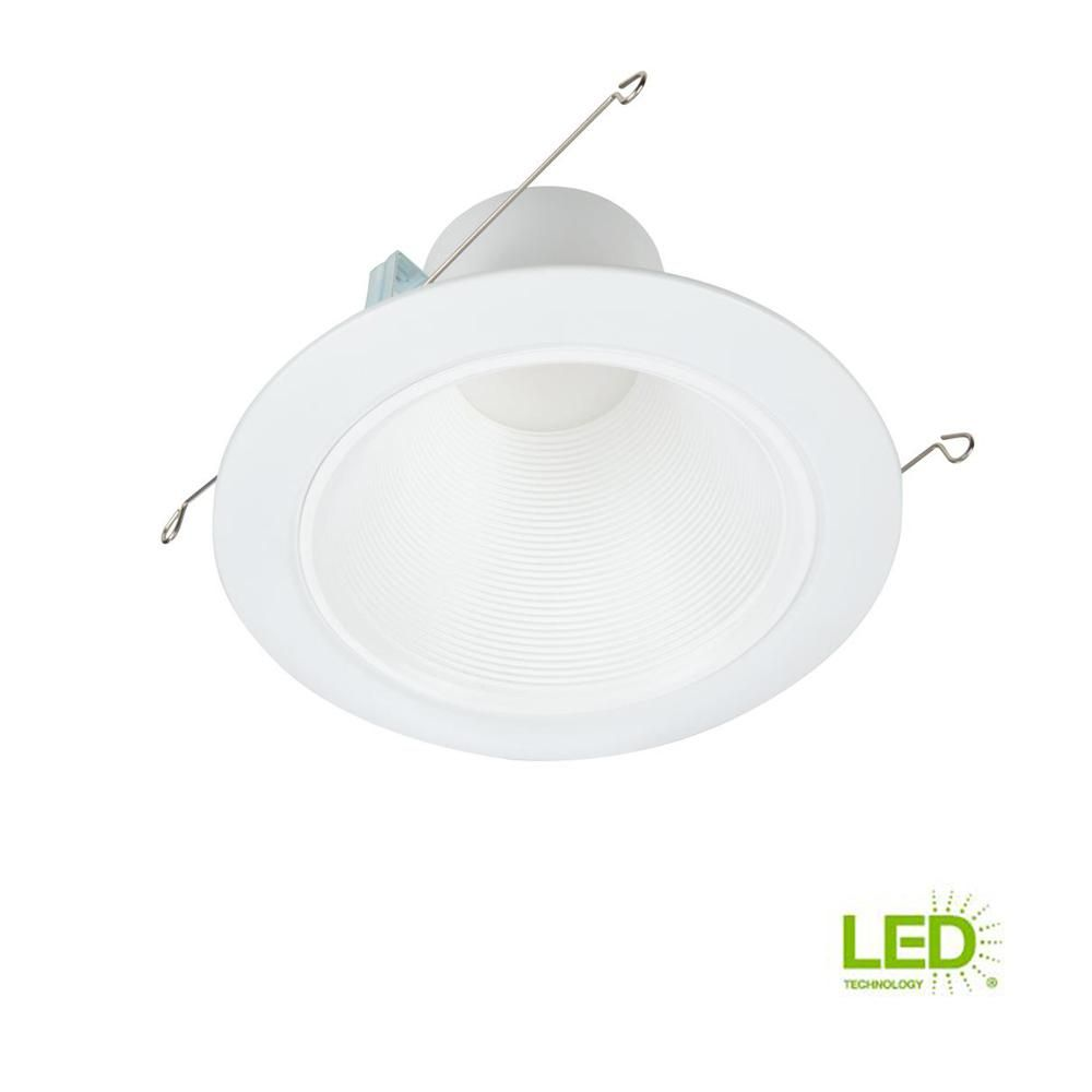 Halo Rl 5 In And 6 White Integrated Led Recessed Light