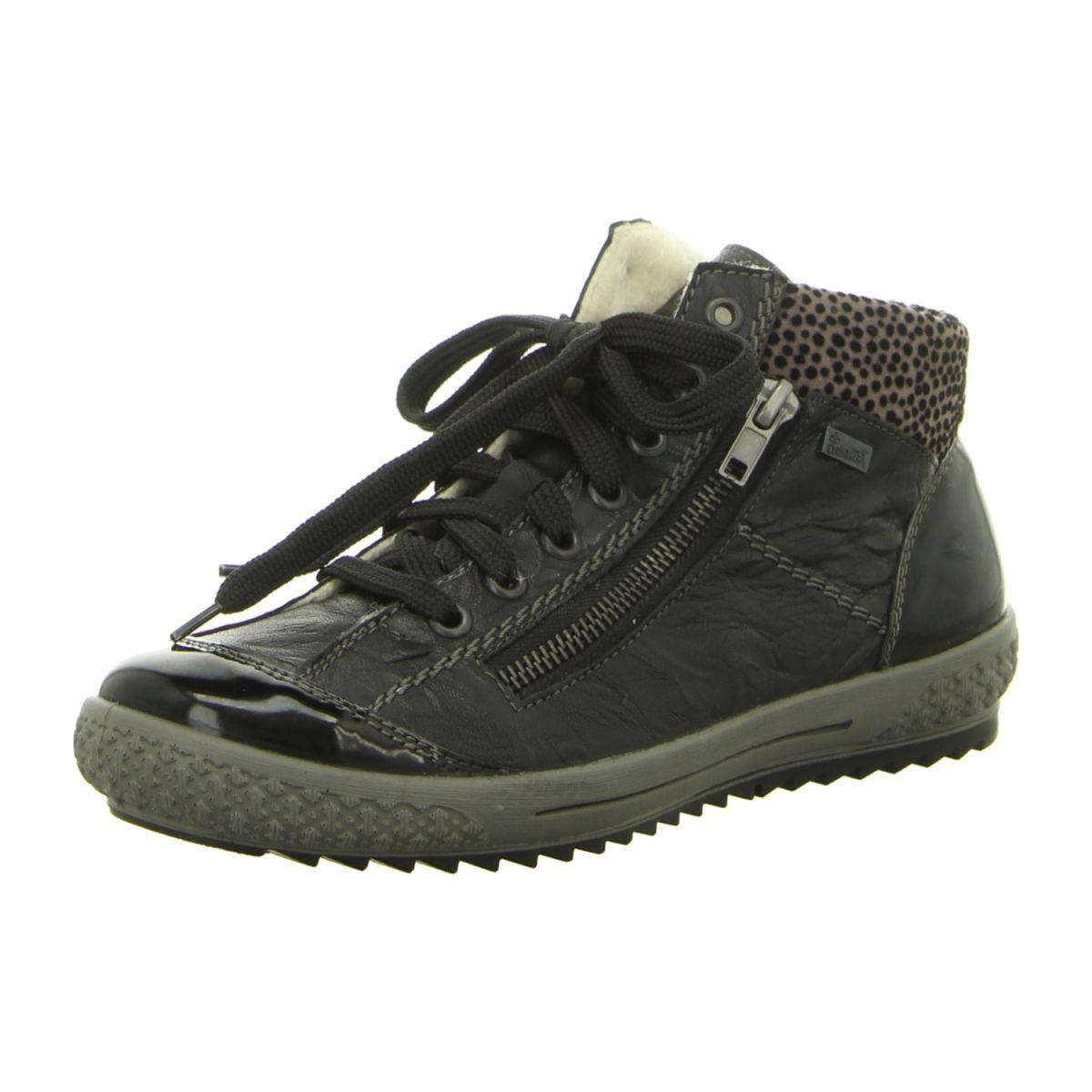 NEU: Rieker Sneaker Stiefeletten M6143-00 - schwarz kombi -