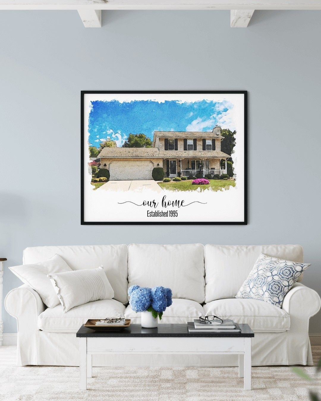 ✨One of the most life-changing events in life is purchasing a new home! Help yourself or your loved ones commemorate this event with a custom house portrait that will be sure to show off the pride in homeownership. Proudly Made in 🇺🇸 . . . #artforhomedecor #watercoloroftheday #friendgift #newhomegift #homemadedecor #watercolor_artist #homedécor #interiortips #water_color #homedecoridea #customportraits #originalpaintings #waterpaint #houseportraits #customwatercolor #watercolourartwork #person