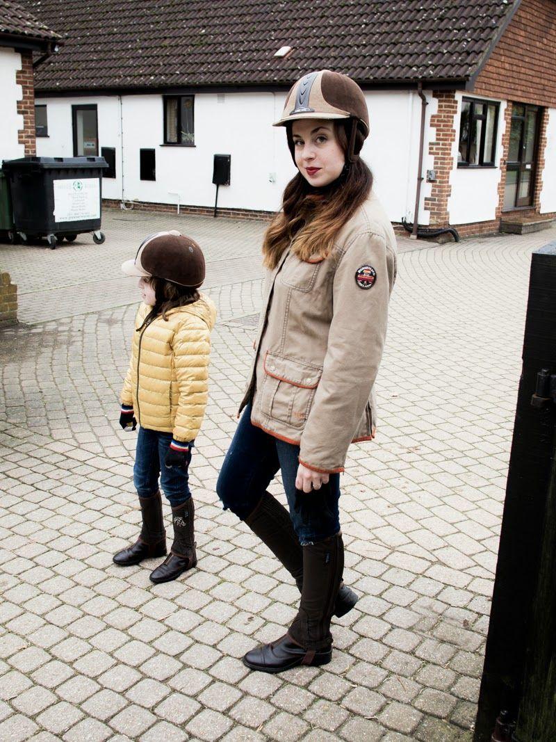 Equestrian chic with Mini...