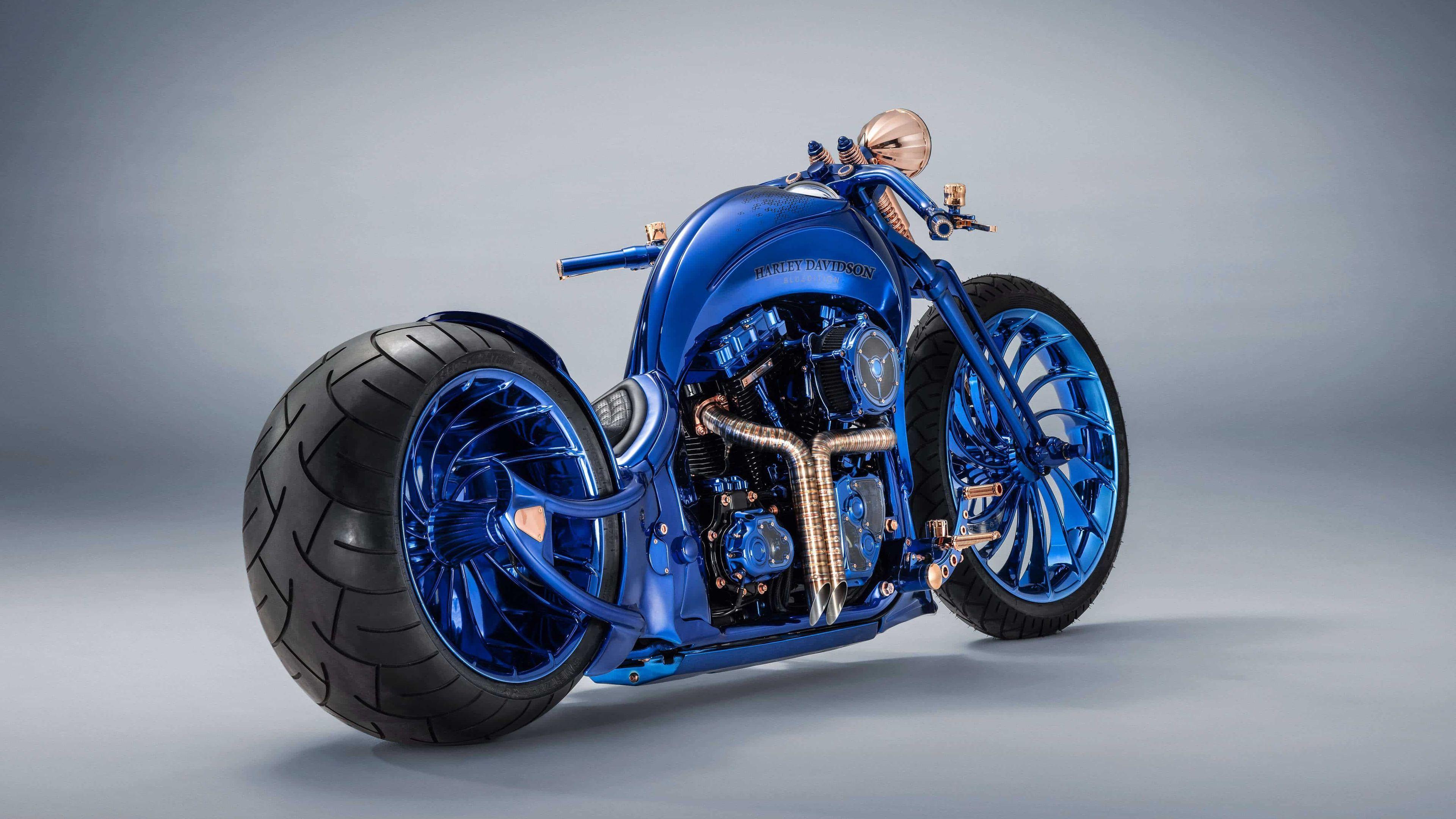 Harley Davidson Blue Edition 4k Hd Wallpapers Harley Davidson Wallpapers Bikes Harley Davidson Motorcycles Harley Davidson Wallpaper Classic Harley Davidson