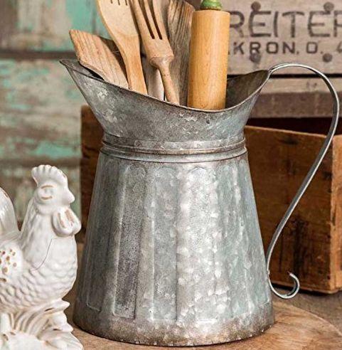 Farmhouse Galvanized Metal Home Decor on Amazon for Cheap