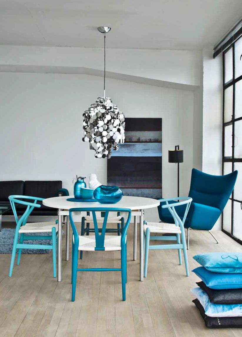 Comedor azul  decoracin con reciclado  Pinterest