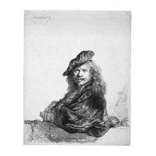 Rembrandt, Self-portrait-1