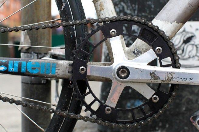 Black 44rn 144 47 Track Chainring With Images Cool Bikes
