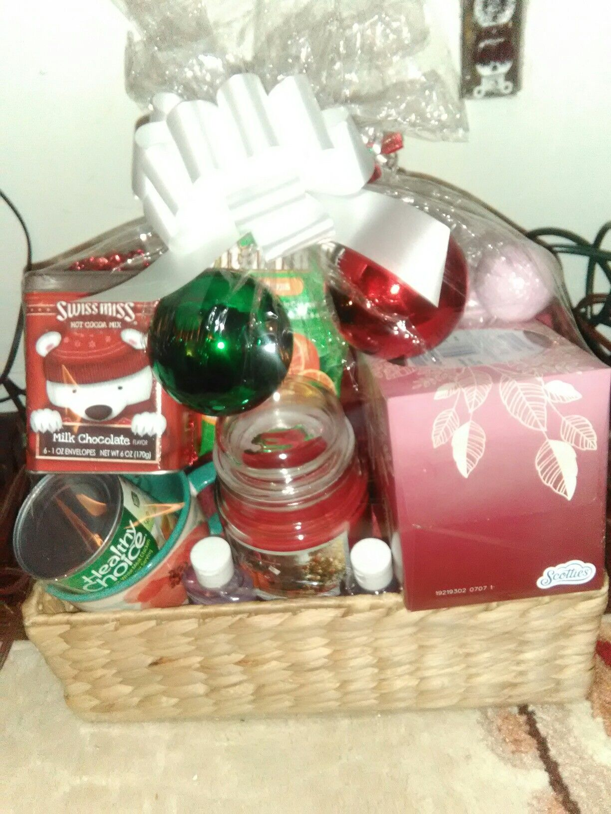 Wellness Gift Basket For A Christmas When You Feeling Under The Weather This Is The Basket For You Wellness Gifts Gifts Gift Baskets