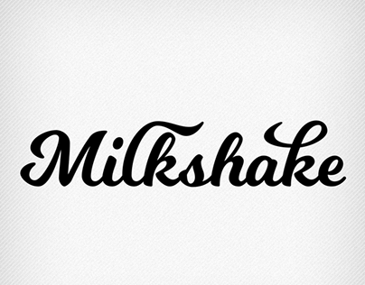 Milkshake (FREE FONT) on Behance   fonts   Fonts, Milkshake