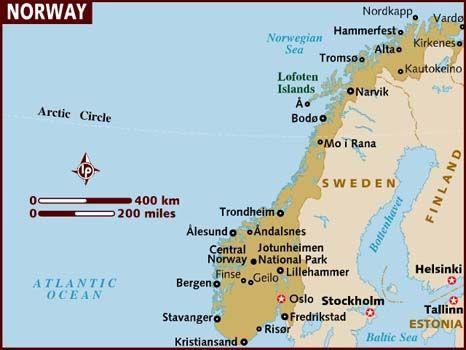 Nigerian In Diaspora Contests City Council Election In Norway - Norway election map