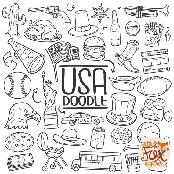 USA, United States of America Travel. US Icons Friends and