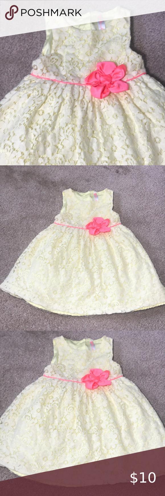 Cherokee Toddler Girl S Spring Summer Dress 4t Summer Dresses Spring Summer Dress Baby Girl Dress [ 1740 x 580 Pixel ]