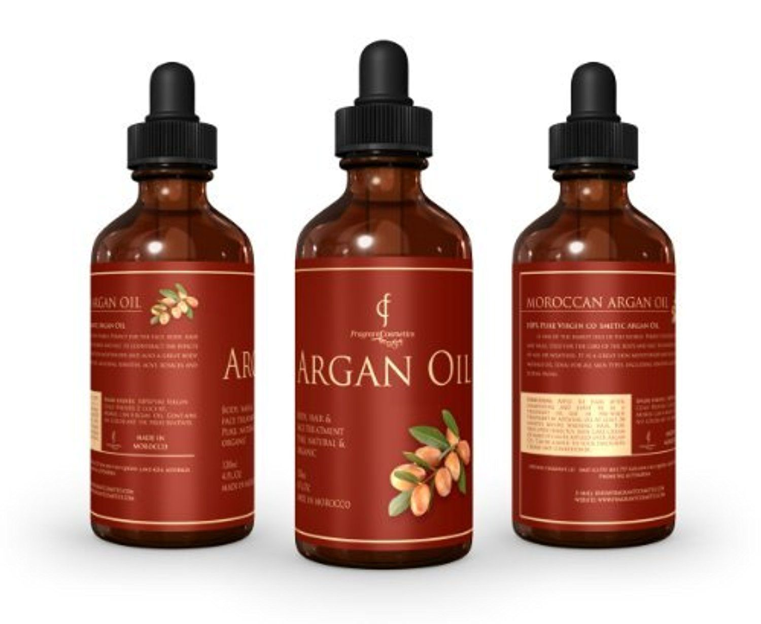 Pure Organic Moroccan Aragn For Hair, Face , Skin & Nails