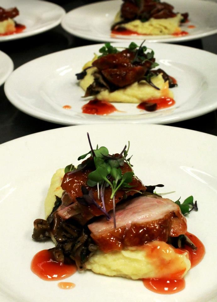 Orange Cranberry Glazed Duck Breast maple leaf farms duck