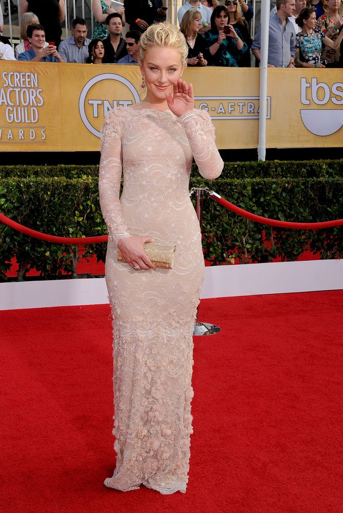 Sag Awards 2014 - Elizabeth Rohm in Marchesa
