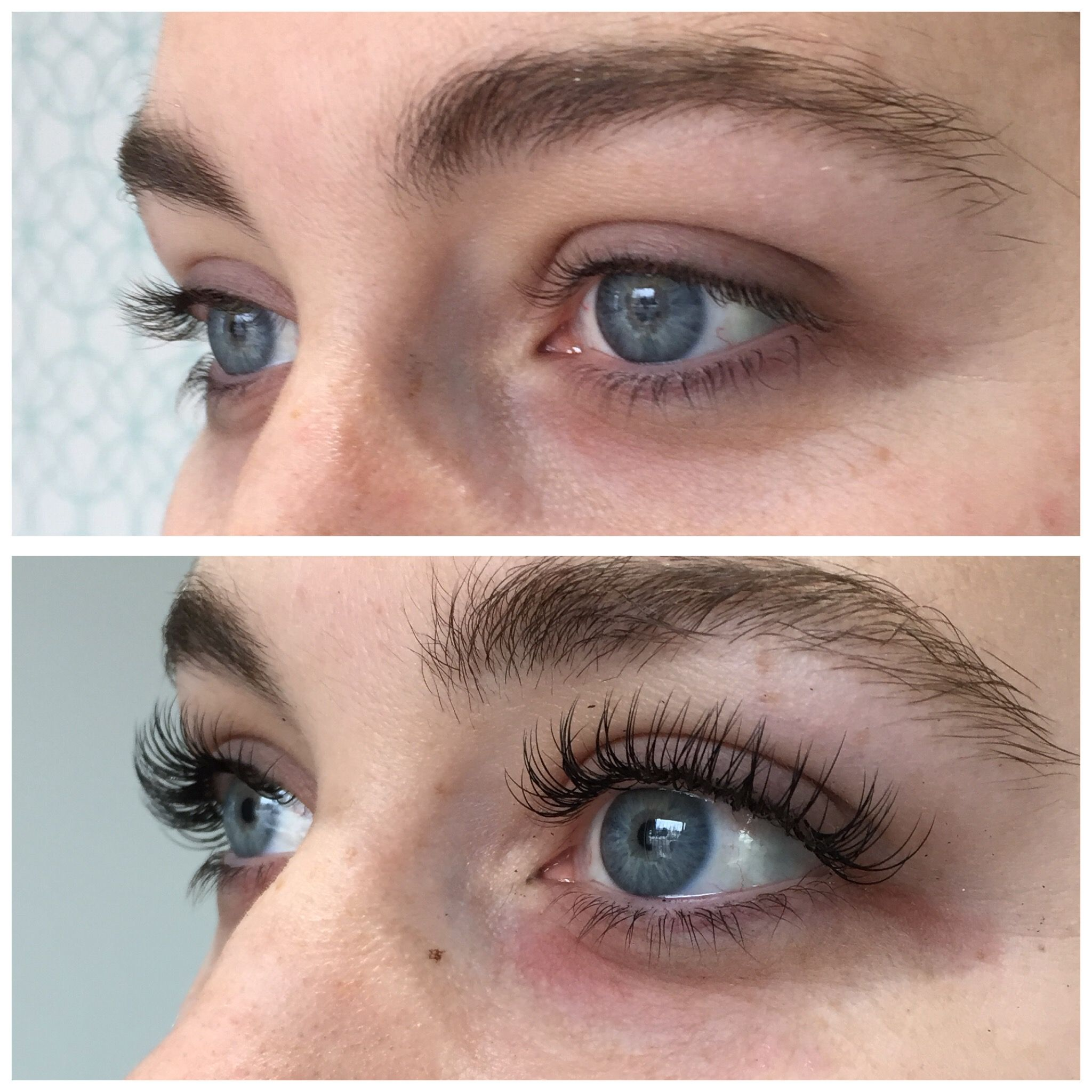 7b3515e03db Sugarlash eyelash extensions before and after | makeup in 2019 ...
