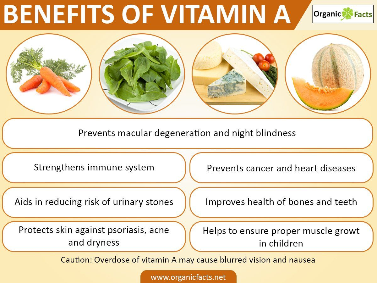 Vitamin A is an important nutrient. Retinal and retinol are referred as preformed Vitamin A. It helps in inc… | Eye health food, Health facts food, Retinol benefits