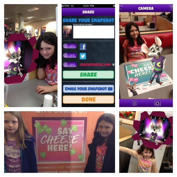 """Chuck E. Cheese's Launches First Mobile App: """"Say Cheese"""