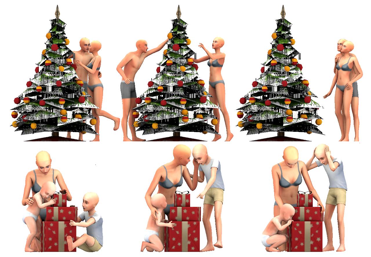 Sims 4 Christmas Poses.Pinterest